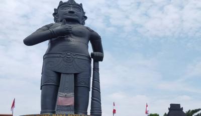 Patung Gajah Mada di Mojokerto Cetak Rekor MURI