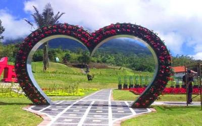 Saatnya ke Bali! Ada Destinasi Baru Penuh Bunga Bak Dubai Miracle