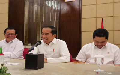 Jokowi: Persoalan Jakarta, Banjir dan Macet
