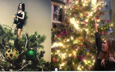 Keren dan Unyu-unyu Banget Tampilan Pohon Natal Seleb Ini!