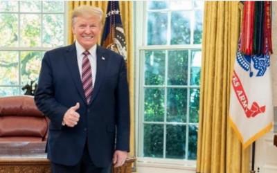 Dimakzulkan DPR, Donald Trump: Demokrat Bunuh Diri