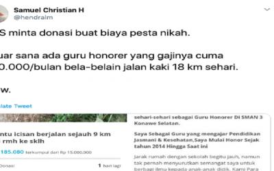Viral, Netizen Kritik Penggalangan Dana untuk Nikah di Kitabisa