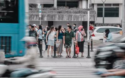 Pejalan Kaki Megap-Megap, Jakarta Semakin Engap