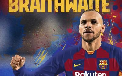 Martin Braithwaite Naik Kasta, Dari Klub Kecil ke Barcelona