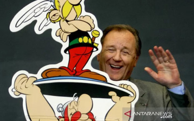 Ilustrator Asterix dan Obelix Meninggal Dunia saat Tidur
