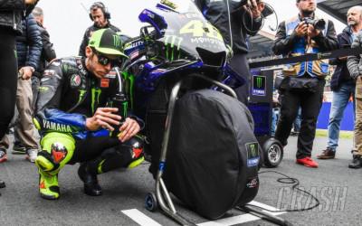 Valentino Rossi Sering Bicara dengan Motornya Sebelum Balapan
