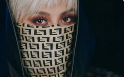 MV Single Baru Agnez Mo Trending,Tampil Bermasker Curi Perhatian