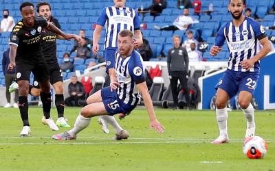 Brighton vs Manchester City 0-5: Bertabur Rekor Hebat