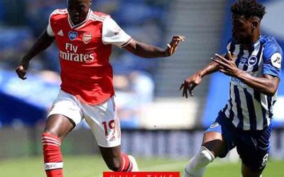 Brighton & Hove Albion vs Arsenal 2-1: Rugi Dobel