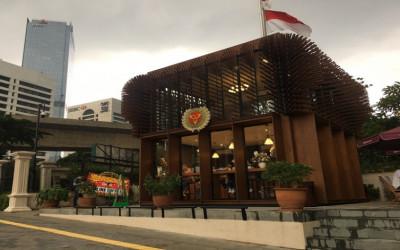 Guys, Bisa Ngopi Outdoor di Kafe SSS Gedung Sampoerna Strategic
