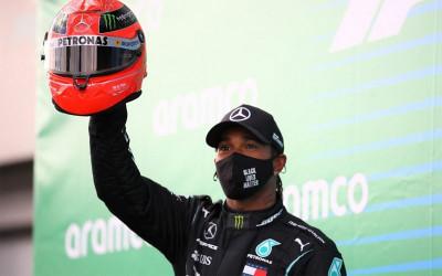 Menang di Grand Prix Turki, Hamilton Dipastikan Juara Dunia F1