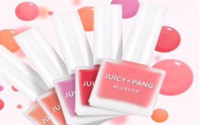 Juicy Pang Water Blusher, Blush On Unik yang Bikin Pipi Merona