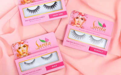Eyelashes Sarita Beauty Bisa Dipakai 7 Kali, Kualitasnya Terjaga
