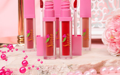 Lip Cream Sarita Beauty Nggak Mudah Terhapus, Makan Kian Tenang