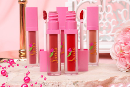 Mau Makin Girly? Pakai Lip Cream Sarita Beauty Varian Pink Orchid