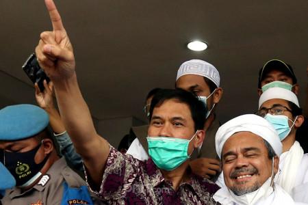 Top 5 Sepekan: Angin Segar untuk Munarman, KKB Papua Ancam TNI