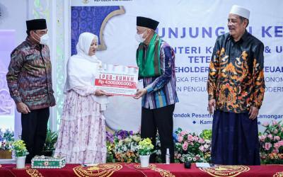 LPDB-KUMKM Kucurkan Rp 4,5 M ke KSBP Sunan Drajat Lamongan
