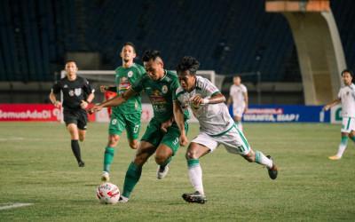 Hasil Piala Menpora 2021 Persebaya vs PSS, Green Force Gembos
