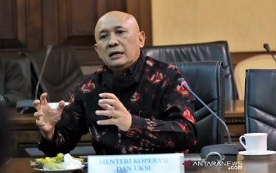 Menteri Teten: UMKM Digital Produktif Kunci Pemulihan Ekonomi