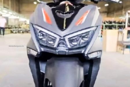 Honda Vario 160 Nongol, Desainnya Agresif