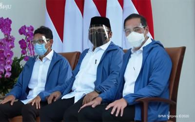 Makna di Balik Jaket Biru yang Dipakai Para Menteri Baru