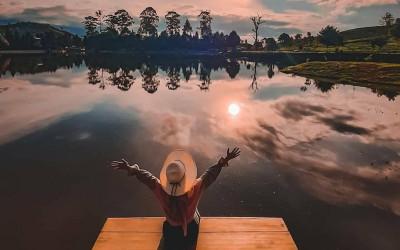 Telaga Saat, Danau di Bogor dengan Pemandangan Eksotis