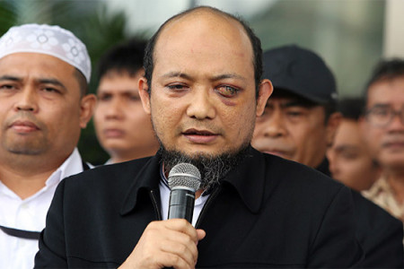 Ucapan Keras Akademisi Soal TWK KPK, Novel Dengarlah!