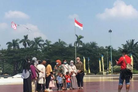 TMII Ramai di H+2 Lebaran, Anjungan Nusantara jadi Favorit