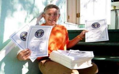 Ashrita Furman Peraih Rekor Dunia Terbanyak