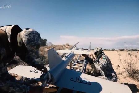 Drone Hantu Kimia Beracun Hantam Markas Militer Israel