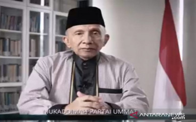 Skenario Amien Rais Cemerlang, Partai Ummat Deklarasi Awal Puasa