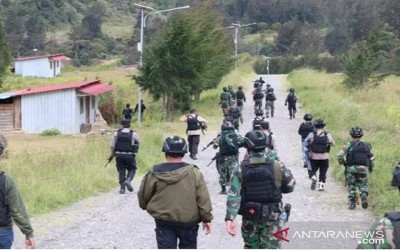 Pasukan Setan Beraksi, KKB Papua Dibikin Rata