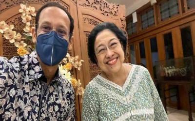 Eriko Tepis Pertemuan Nadiem dan Megawati Mencari Suaka Politik