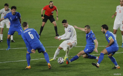 Link Live Streaming Kualifikasi Piala Dunia: Georgia vs Spanyol