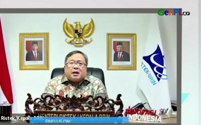 Vaksin Covid-19 di Indonesia Menipis, Menristek Buka Suara