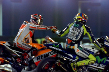 Honda Ancam Marquez, Rossi Malu-maluin Yamaha