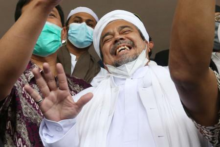 Rizieq Shihab Tak Muluk-muluk Saat Lebaran, Ternyata
