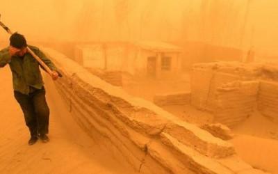 Kiriman Tuhan, Badai Pasir Getarkan China, Xi Jinping Siap Tempur