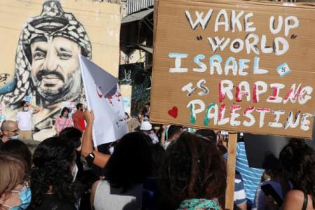Protes Lebanon Meluas, Militer Israel Terancam