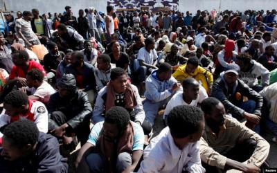 Perdagangan Manusia Merajalela di Libya, 156 Migran Siap Dijual