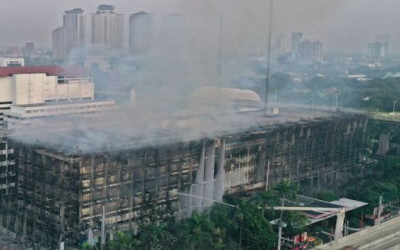 Terbongkar, Gedung Kejagung Ternyata Dibakar Oknum, Faktanya Duh