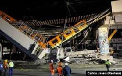 Merinding Jembatan Meksiko Runtuh, Rakyatnya Meninggal Berjatuhan