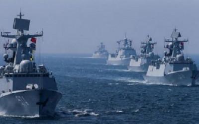 Manuver Kapal Pembelah Lautan China Boleh Juga, Dunia Ketakutan!