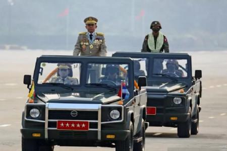 AS, Kanada, dan Inggris Beri Sanksi Keras Junta militer Myanmar