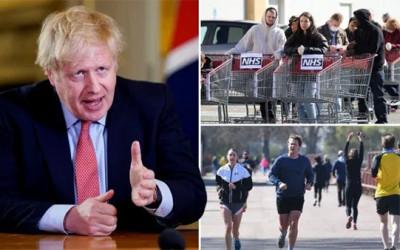 Kasus Corona Menurun, Inggris Siap Longgarkan Pembatasan Sosial