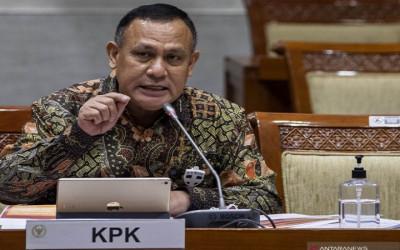 Oknum KPK Peras Kepala Daerah, Pernyataan Komjen Firli Merinding