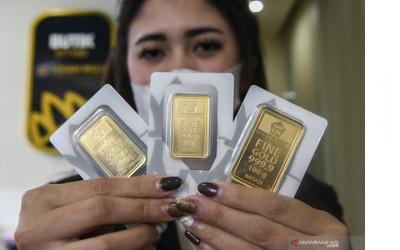 Logam Mulia Dunia 5 Hari Turun Terus, Apa Kabar Harga Emas Antam?