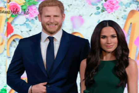 Duh, Patung Lilin Pangeran Harry dan Meghan Markle Pindah Zona