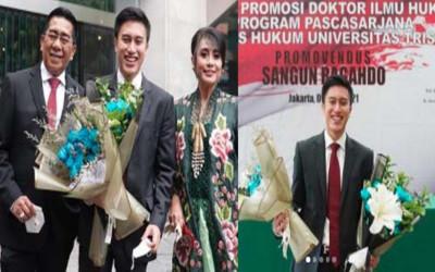 Ganteng dan Doktor llmu Hukum, Anak Yayuk Suseno Idola Banget