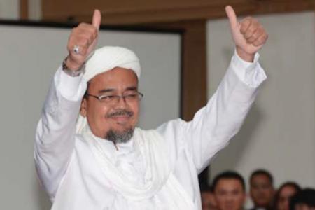 Ucapkan Selamat Idulfitri, Rizieq Shihab Berharap Didoakan Agar…